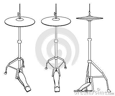 Cymbal Vector 07