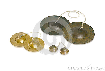 Cymbals Thai Music Instrument