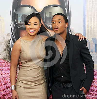 Cymphonique Miller and Romeo Miller Editorial Photography