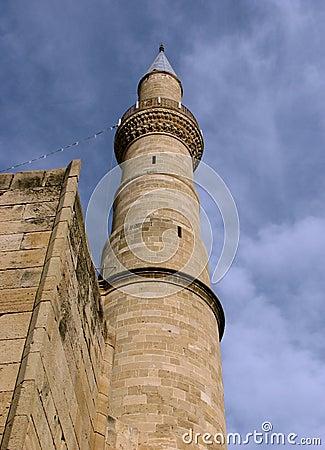 Cyprian sandstone minaret