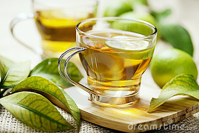 Cytryny herbata