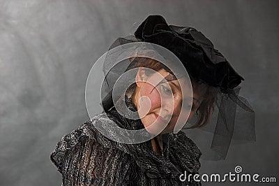 Czarny dama