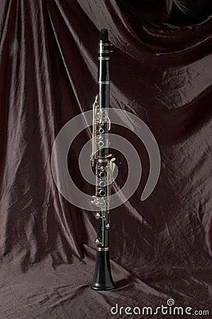 Czarny na klarnecie