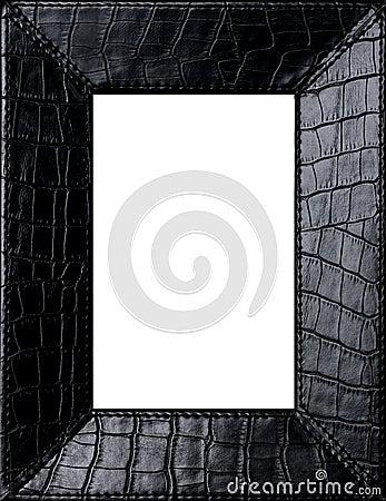Czarny ramowy obrazek