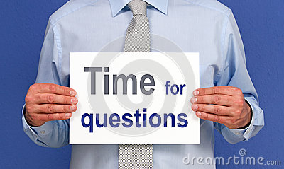 Czas dla pytanie znaka