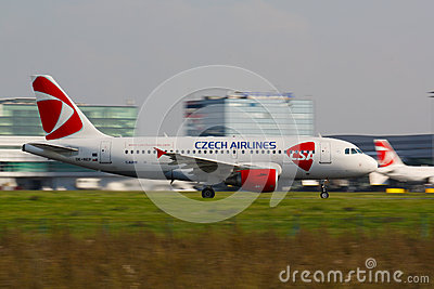 A320 Czech Airlines Editorial Image