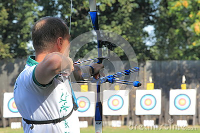 Czech archery Editorial Stock Image