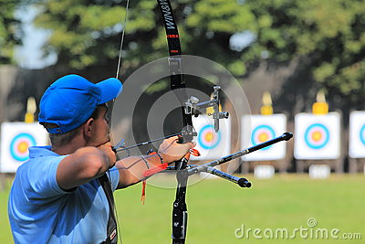 Czech archery championship Editorial Image