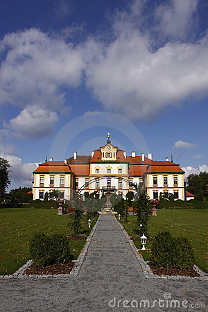 Free Czech Beauty - Chateau Jemniste Stock Photography - 10971552