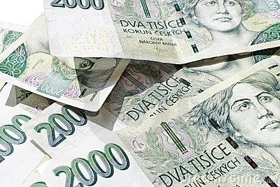 Czech Koruna 2 000 bill