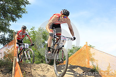 Czech MTB cross country championship Editorial Stock Photo