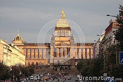 Czech national museum in Prague.