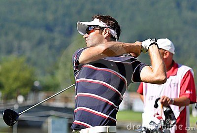 Czech Open 2010, Nick Dougherty, 2010 Editorial Photo