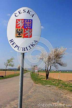 Czech Republic border