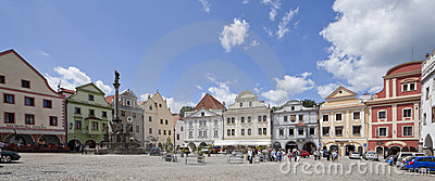 CZECH REPUBLIC-CESKY KRUMLOV, JULY 27 Editorial Photography