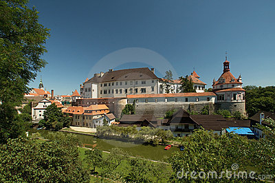 Czech republic, Jindrichuv Hradec, castle