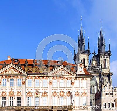 Czech Republic, Prague monuments
