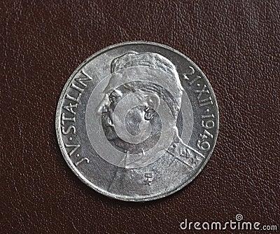Czech silver coin