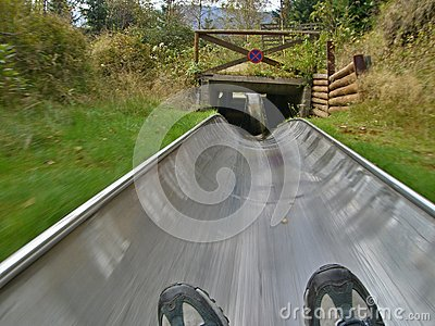 Czech-summer bobsled