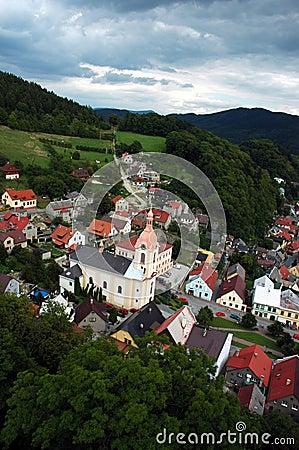 Czech town Stramberk