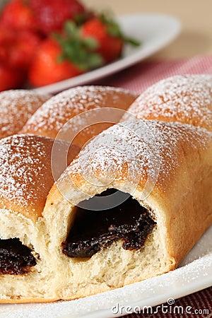 Czech yeast buns