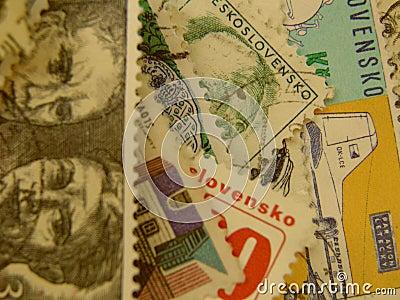 Czechoslovakian stamp