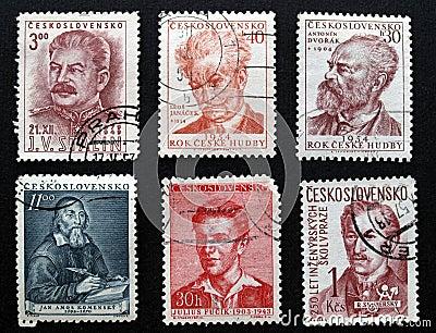 Czechoslovakian stamps