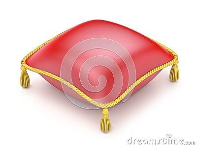 Czerwona poduszka