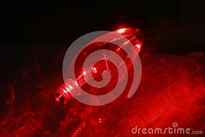 Czerwonego światła blub 3