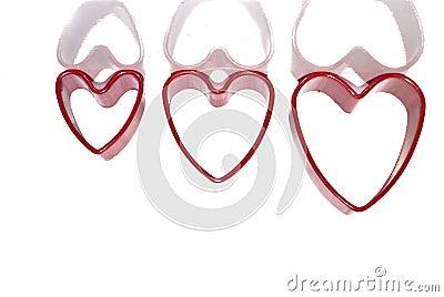 Czerwoni serca