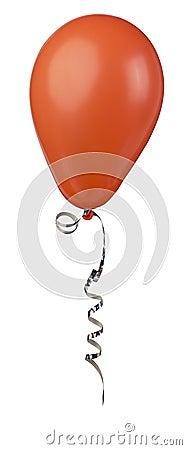 Czerwony balonowa
