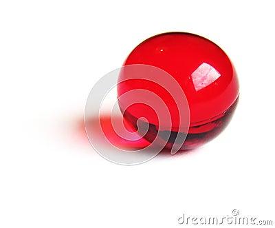 Czerwony jaja w wannie