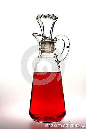 Czerwony octu winnego