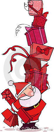 Czerwony Santa