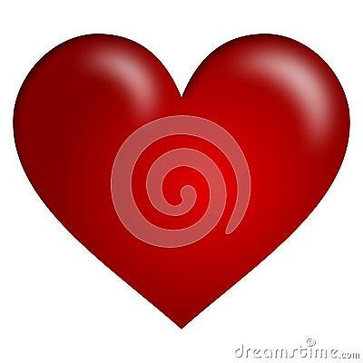 Czerwony serca