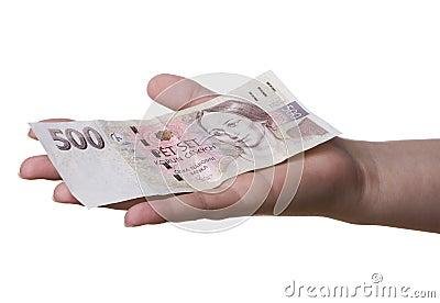 500 CZK