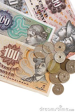 Dänisches Bargeld
