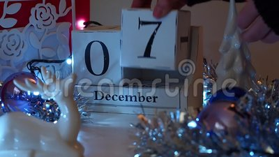 7 décembre la date bloque Advent Calendar