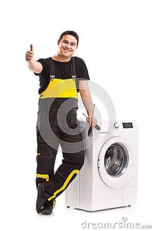 D panneur de machine laver photographie stock image - Petite machine a laver studio ...