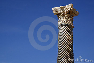 Détail d un fléau romain