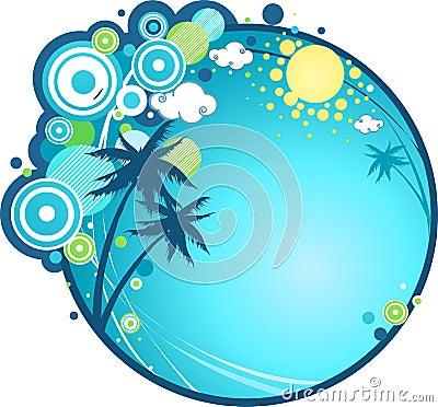 Día de fiesta tropical