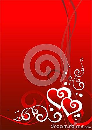 Día de tarjeta del día de San Valentín