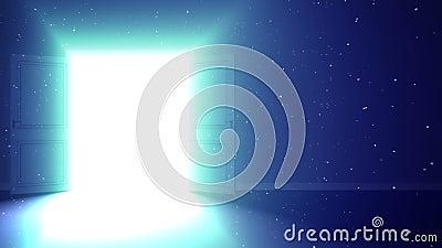 Dörr som öppnar till tillfället