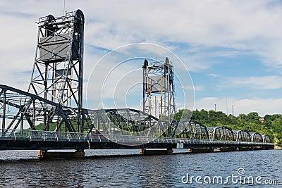 Dźwignięcie most