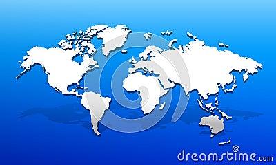 3d世界地图01