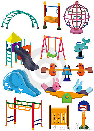 παιδική χαρά πάρκων εικονι&d