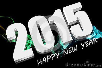 3D 2015. HAPPY NEW YEAR.