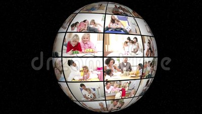 3D animacja rodzina Wszystkie życie zbiory