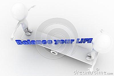 3d balance your life