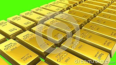3d barów złota hq odpłaca się odpłacać się zdjęcie wideo